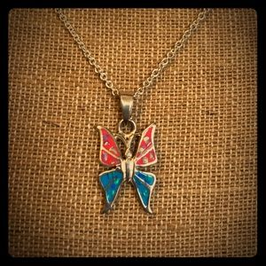 Silver necklace 💕💕💕